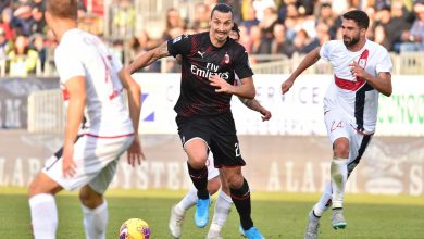 Photo of Ibrahimovic leads Milan to victory over Cagliari in Serie A