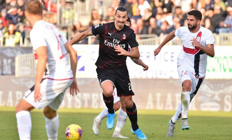 Ibrahimovic leads Milan to victory over Cagliari in Serie A