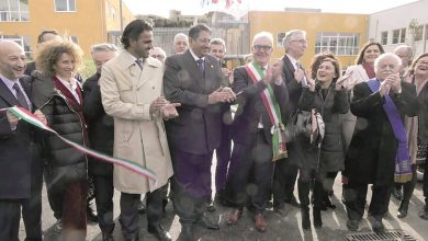 Photo of Italian Enrico Mestica School thanks Qatar for rebuilding school complex