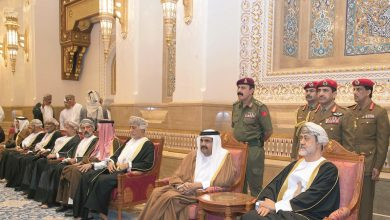 Photo of Father Amir offers condolences to Sultan of Oman
