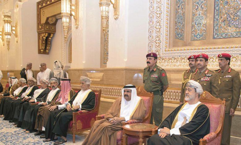 Father Amir offers condolences to Sultan of Oman