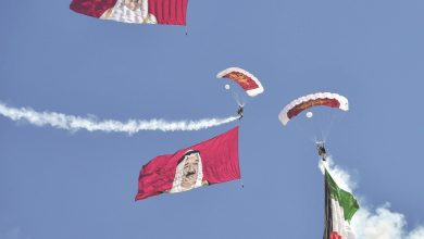 Photo of Qatar team participates in Kuwait Air Show