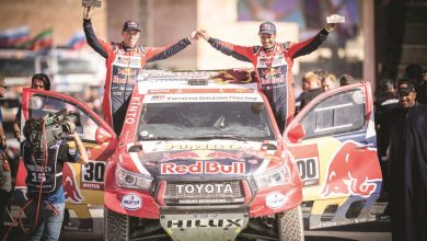 Photo of Al-Attiyah wins final stage for hard-fought second