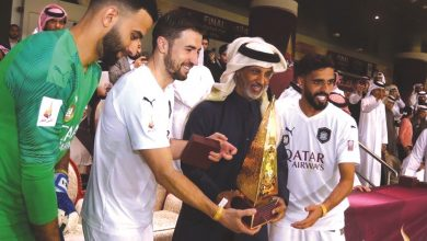Photo of Al Sadd crush Al Duhail to win Qatar Cup