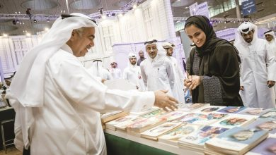 Photo of Sheikha Hind visits the Doha International Book Fair