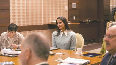 Photo of Sheikha Hind meets heads of QF's international education partners on US Visit