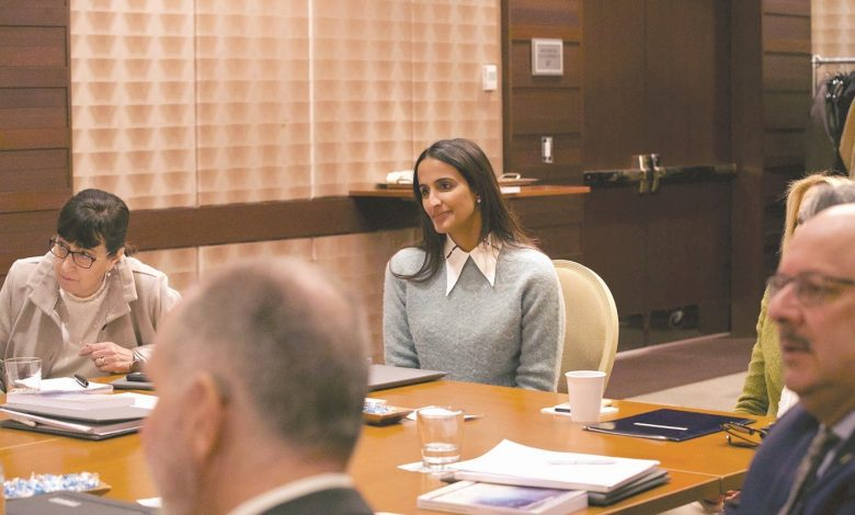 Sheikha Hind meets heads of QF's international education partners on US Visit