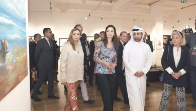Photo of Spanish artists shine at Katara exhibition