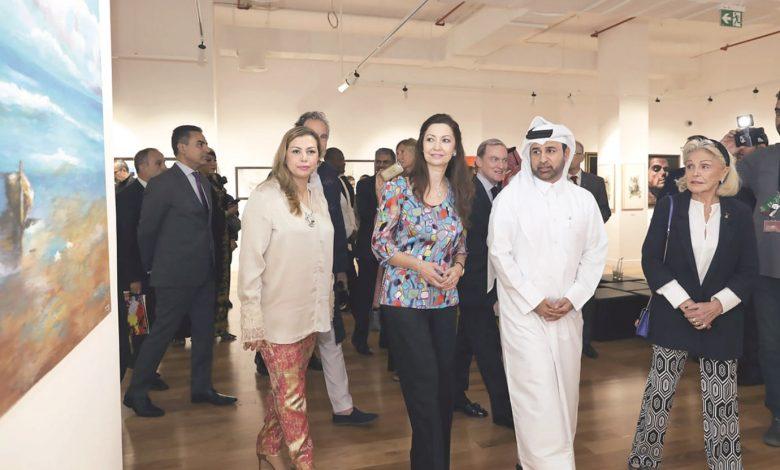 Spanish artists shine at Katara exhibition