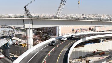 Photo of Ashghal Opens Second Flyover Bridge at Umm Lekhba Interchange