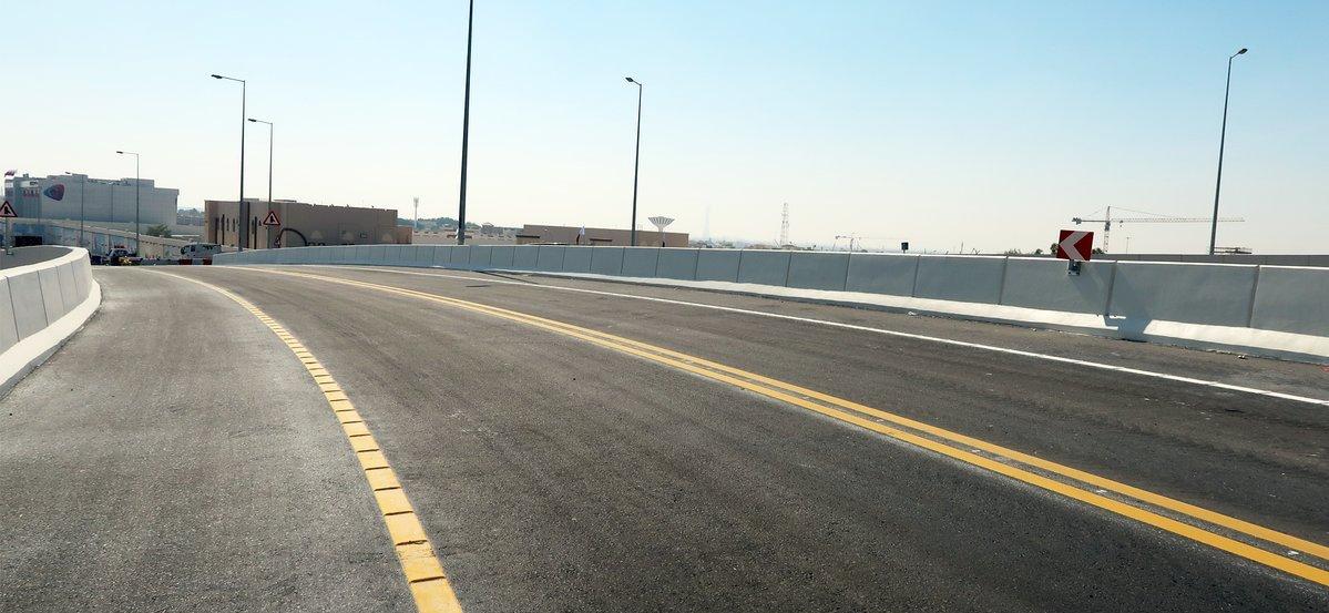 Ashghal Opens Second Flyover Bridge at Umm Lekhba Interchange