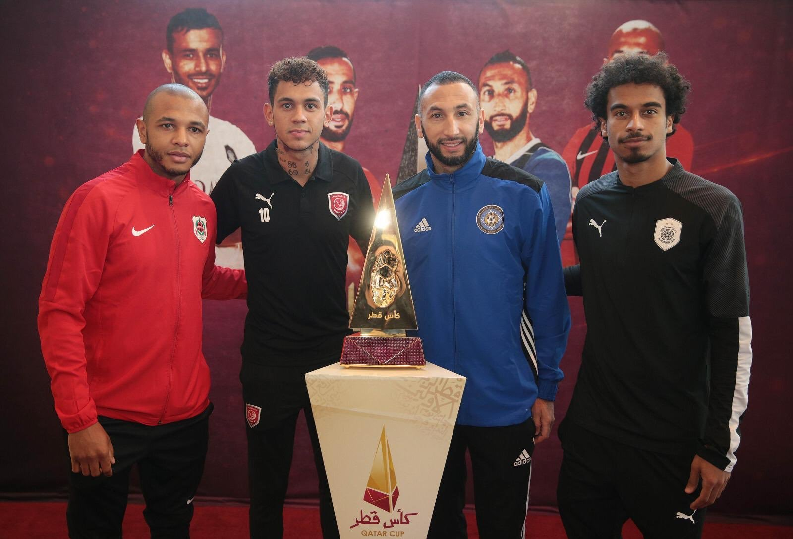 Prominent presence at start of promotion of Qatar Cup
