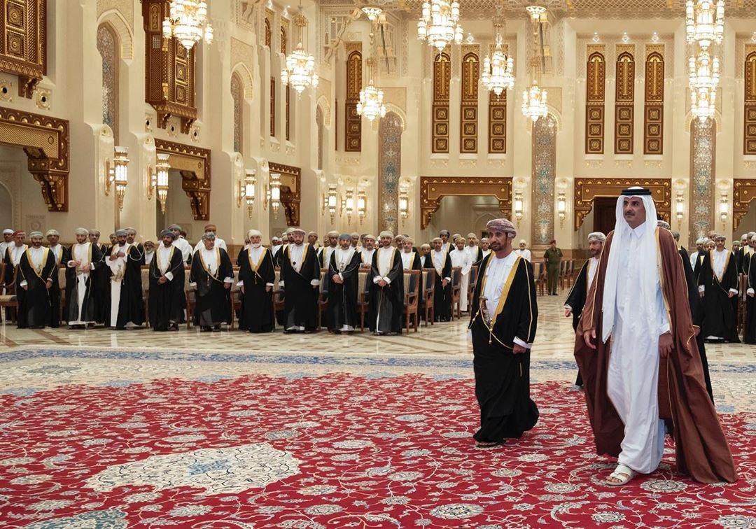 Amir offers condolences to Sultan of Oman