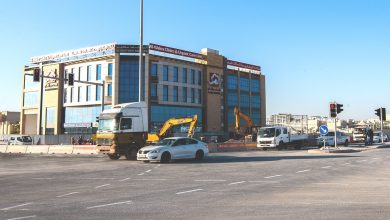 Photo of Ashghal partially opens at-grade intersection above Al Wakra Road Tunnel as part of Al Wakra Road
