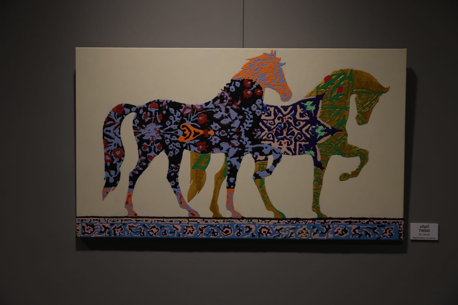 Italian artist bridges East and West through artworks