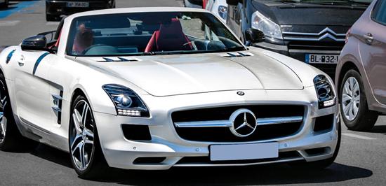 Check out Mohamed Salah's fleet of vehicles