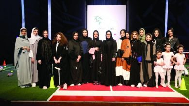 Photo of Qatari fashion designer inaugurates her first exhibition of sports Abayas