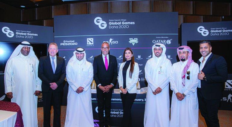 Grand opening of QATAR Esports WEGA Global Games on January 16