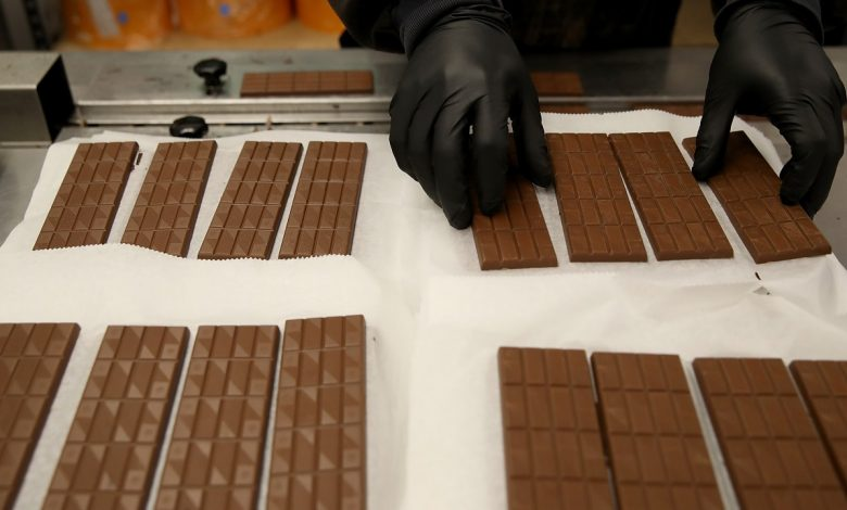 Customs foils smuggling of hashish inside chocolate bars