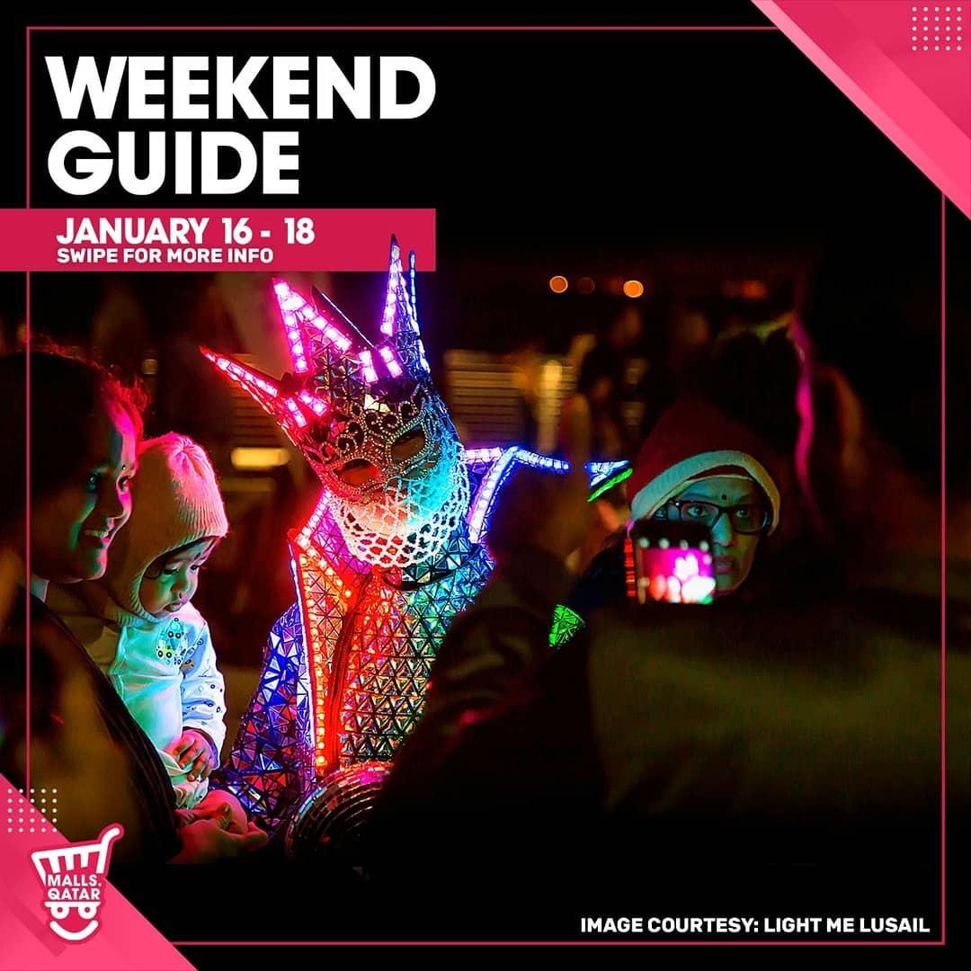 Weekend Guide January 16 - 18