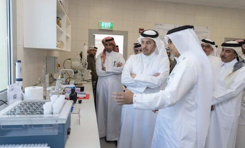 Aquatic Research Centre opened in Ras Matbakh