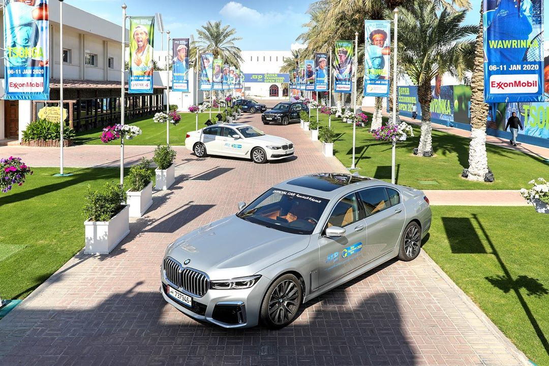 BMW QATAR is the official transport partner for ATP World Tour Tennis Tournament