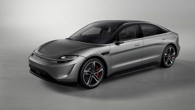 Photo of Sony surprises with an electric concept car called the Vision-S