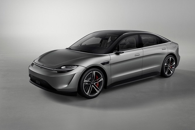 Sony surprises with an electric concept car called the Vision-S
