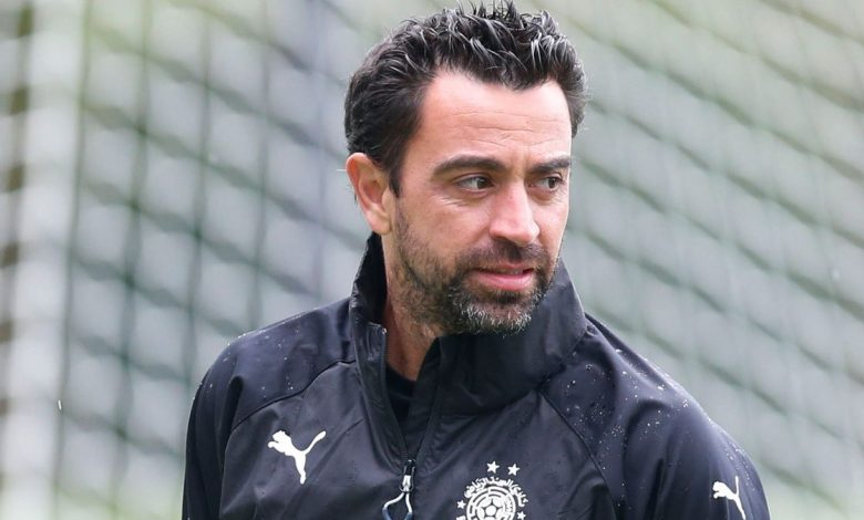 Xavi to stay at Al Sadd despite Barcelona 'proposal'