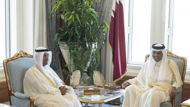 Photo of Amir Receives GCC Secretary-General