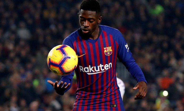 Barcelona announces end of season for Ousmane Dembele