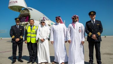 Photo of Five Qatar Airways Cargo planes depart to China with medical supplies