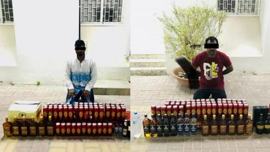 Photo of Two people arrested for illegally selling liquor