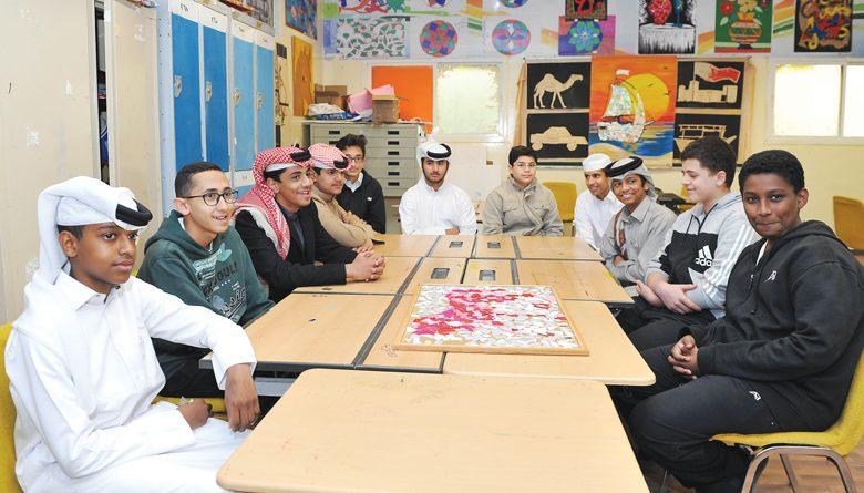 Qatar school adopts unique way to instill love for art