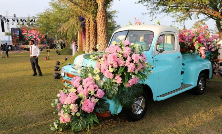 Five floral themed gardens add colour to Katara Hills