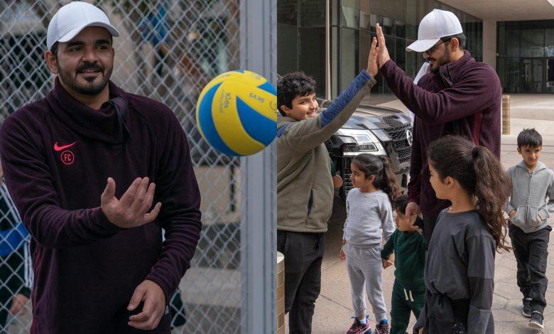 Sheikh Joaan joins National Sport Day celebrations