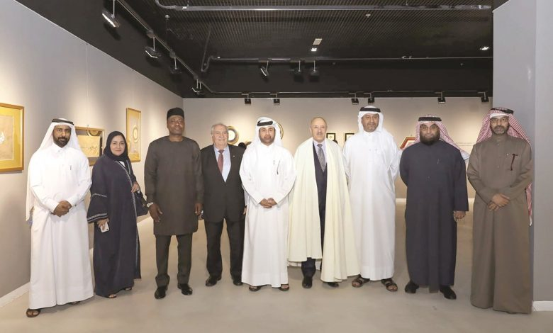 "Exhibition of ""Calligraphy and Illumination"" opens at Katara"
