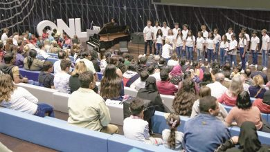 Photo of Qatar Youth and Junior Choirs performs at QNL