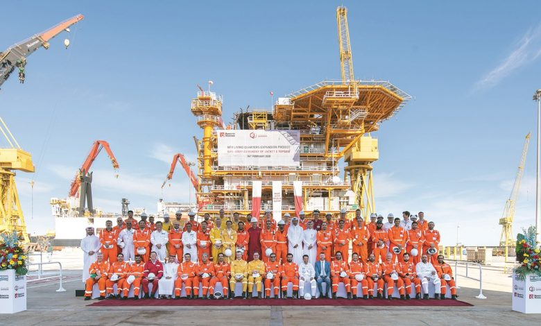 Qatargas marks major milestone for NFB Living Quarters Expansion Project