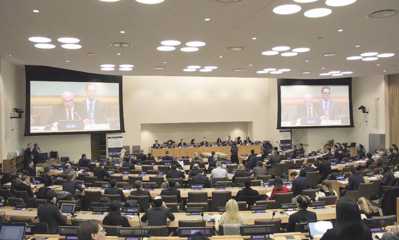 UN launches global program on securing major sporting events with Qatari backing