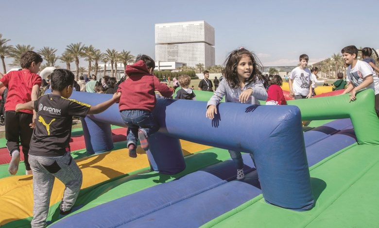 Qatar Foundation offers exciting activities for National Sport Day