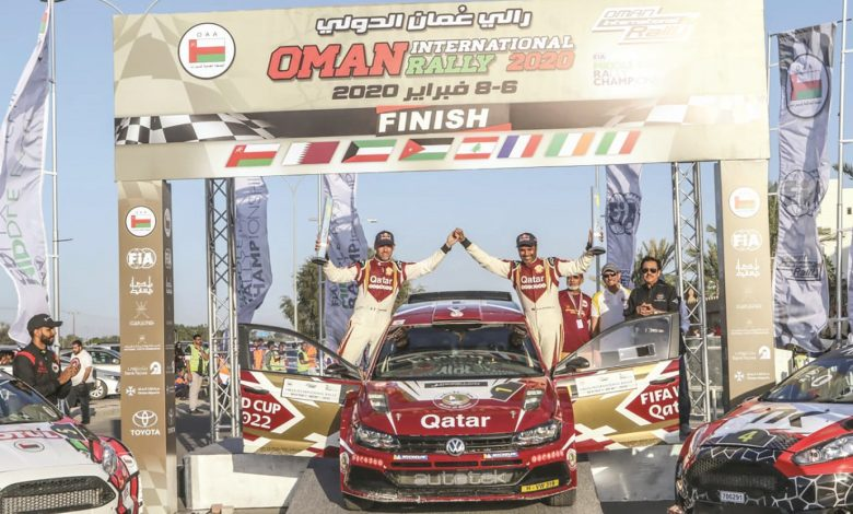 Al Attiyah wins Oman Rally for the sixth time in his career