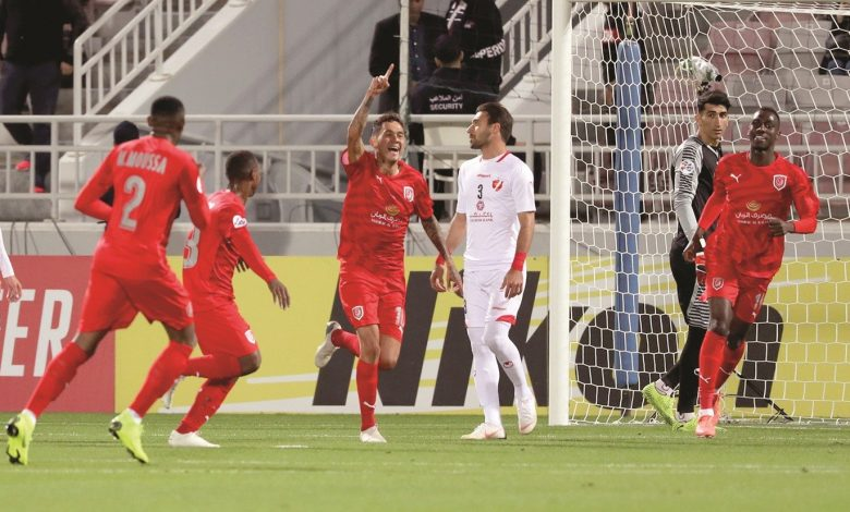 Al Duhail hits Persepolis with a double .. off to a flying start in ACL