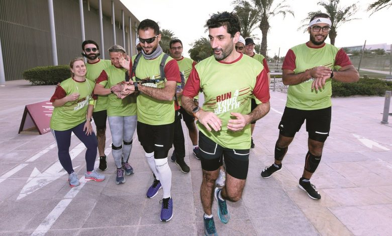 WCM-Q doctor runs nonstop for 24 hours for National Sport Day