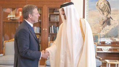 Photo of Amir meets Lord Mayor of London