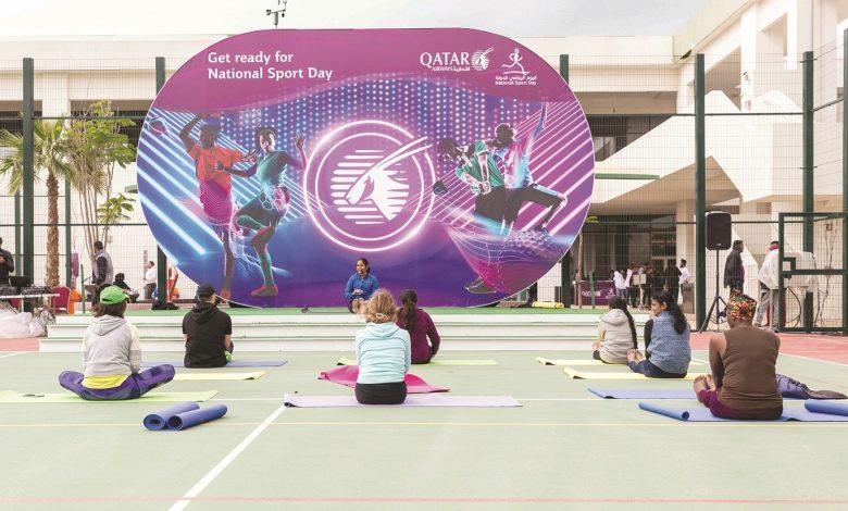 Qatar Airways organises NSD events at Oryx International School campus