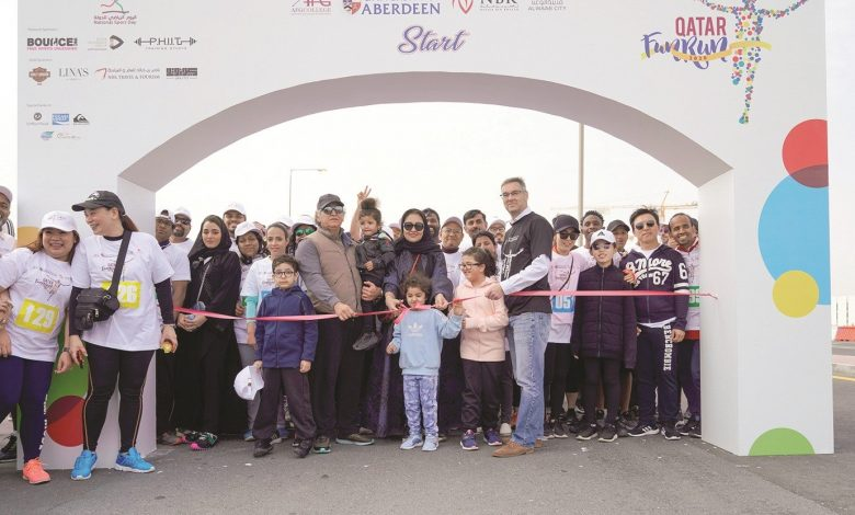 AFG College with the University of Aberdeen organises Fun Run