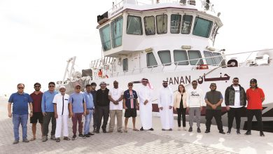 Photo of Research vessel Janan departs to study the marine environment