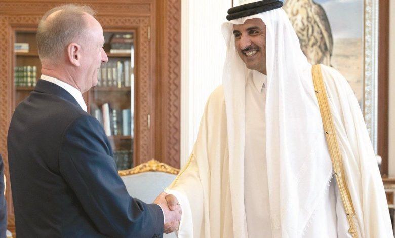 Amir meets Secretary of Russian Security Council