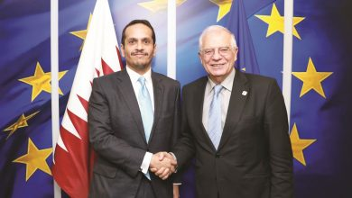 Photo of Minister of Foreign Affairs meets EU High Representative for Foreign Affairs